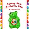 "Gummy Bear by Gummy Bear, a sweet concept book showing the growth of a pre-born baby, week by week of gestation. Answering siblings questions, ""What is the baby doing in there?"" ""How big is the baby now?"" and ""What does the baby look like now?"""